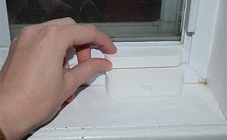 Ring alarm contact sensors