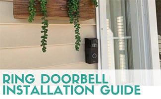 Ring doorbell camera (caption: Ring Doorbell Installation)