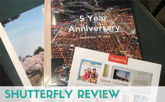 Shutterfly books on desk