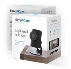 SimpliSafe Camera in box