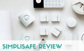 SimpliSafe equipment (caption: SimpliSafe Review)