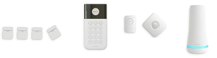 Example of SimpliSafe equipment