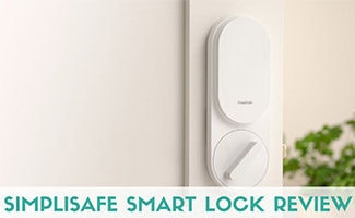 Simplisafe lock (caption: SimpliSafe Smart Lock Review)