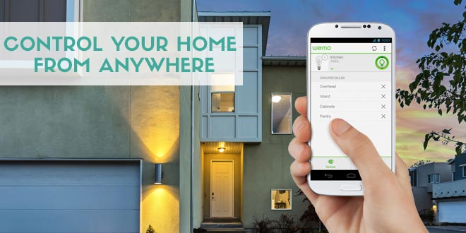 Smarthome hub: control your home from anywhere