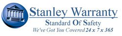 Stanley Warranty logo