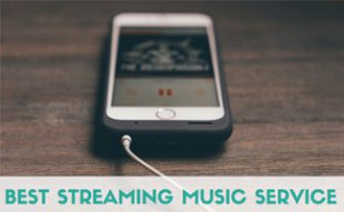 Cell phone streaming music