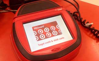 Target Credit Card Machine