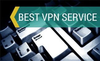 Up Close View Of A Keyboard, Caption: Best VPN Service