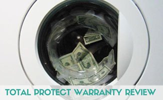 Money in washing mashine: Total Protect Home Warranty Reviews