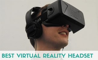 Guy wearing virtual reality headset: Best Virtual Reality Headset