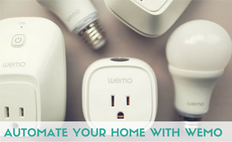 WEMO plug and bulbs: Automate Your Home With Wemo