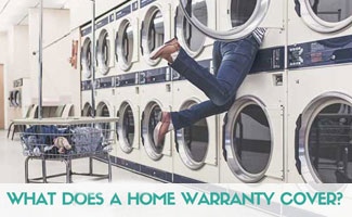 Person stuck in dryer at laundromat: Why Do I Need A Home Warranty Plan?