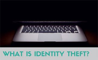 Computer screen closed: What is Identity Theft?