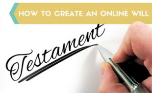 Person writing will: How to Create Wills Online