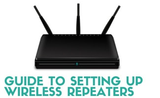 Wireless router (caption: Guide To Setting Up Wireless Repeaters)